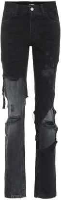 Raf Simons Distressed straight jeans