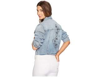 Joe's Jeans Cut Off Jacket Women's Coat