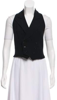 Ralph Lauren Wool Double-Breasted Vest
