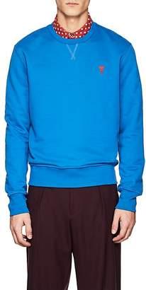Ami Alexandre Mattiussi Men's Embroidered Cotton Terry Sweatshirt