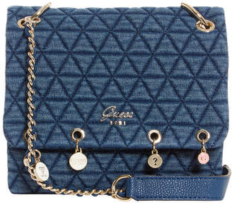 At Myer Guess Fleur Chain Crossbody Bag
