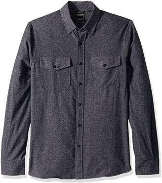 Todd Snyder Men's Patch Flap Speckled Shirt