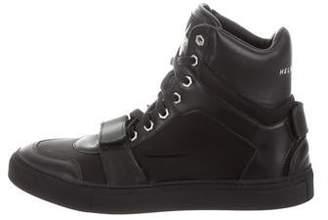 Helmut Lang x Travis Scott TS High-Top Sneakers w/ Tags