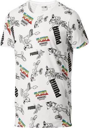 SUPER PUMA All Over Graphic T-Shirt