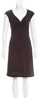 Mayle V-Neck Knee-Length Dress
