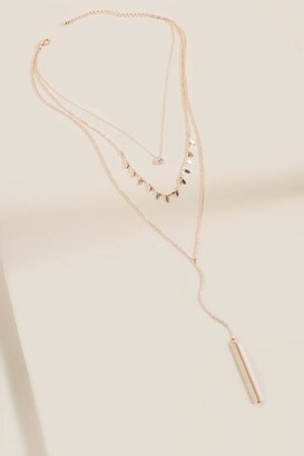 Kimberly Rose Gold Layered Necklace - Rose/Gold