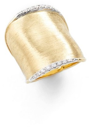Women's Marco Bicego 'Lunaria' Diamond Ring $3,740 thestylecure.com