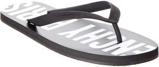 Givenchy Logo Thong Sandal