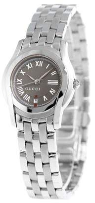 Gucci YA055508 Stainless Steel Gray Dial 27mm Watch