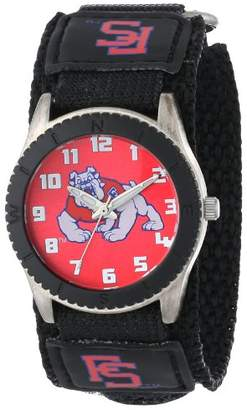 """Game Time Unisex COL-ROB-FRE """"Rookie Black"""" Watch - Fresno State"""