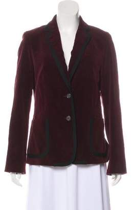 Marc Jacobs Structured Velvet Blazer