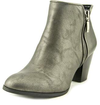 Style&Co. Style & Co. Womens JAMILA Leather Round Toe Ankle Cowboy Boots
