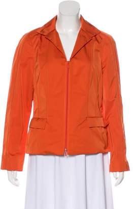 Lafayette 148 Zip-Up Athletic Jacket