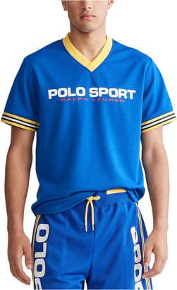 Polo Ralph Lauren Men V-Neck Performance Mesh Shirt