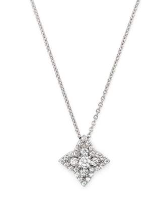 Bloomingdale's Diamond Clover Necklace in 14K White Gold, 0.50 ct. t.w. - 100% Exclusive