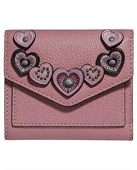 Coach Small Wallet With Hearts