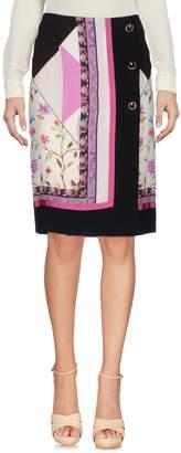 Class Roberto Cavalli Knee length skirts - Item 35355475VD