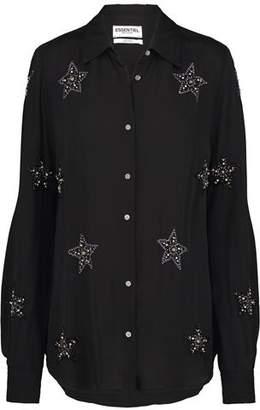 Essentiel Orti Star Shirt in Black