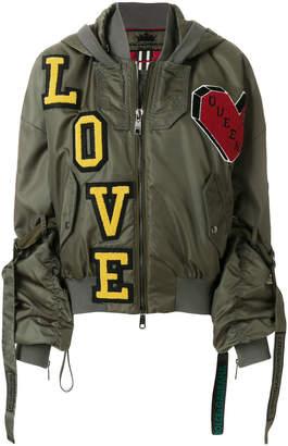 Dolce & Gabbana patchwork design jacket