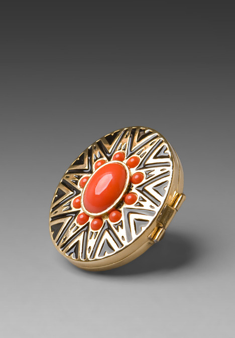 House of Harlow Tribal Ring with Cabochons