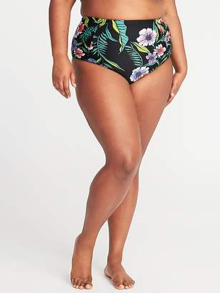 Old Navy High-Rise Secret-Slim Plus-Size Swim Bottoms
