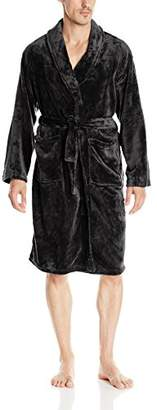 +Hotel by K-bros&Co Hotel Spa Men's Velvet Plush Robe