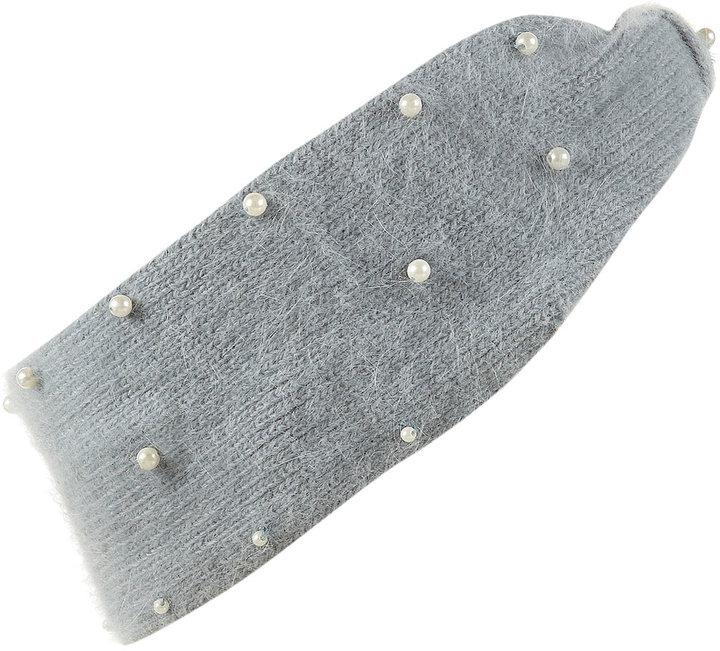 Angora Pearl Headband