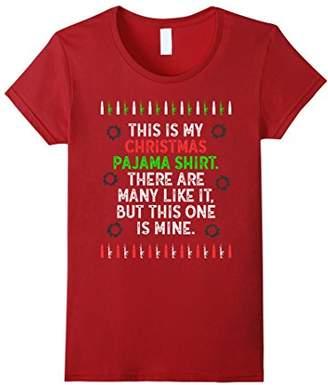 This Is My Pajama Shirt Funny Christmas Creed Military Shirt
