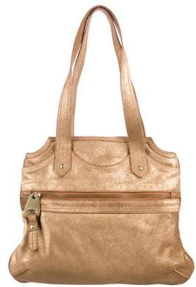 Marc Jacobs Metallic Suede Shoulder Bag