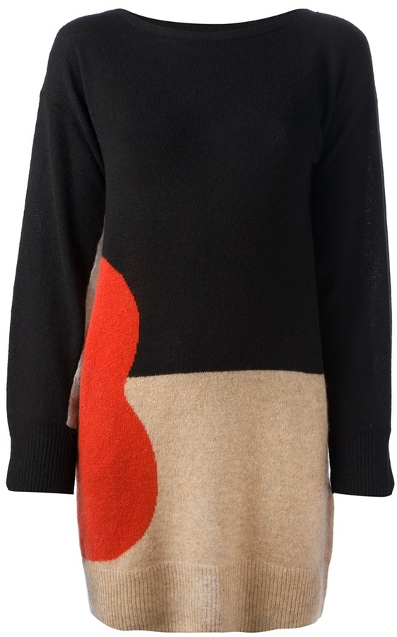 Tsumori Chisato guitar knit dress