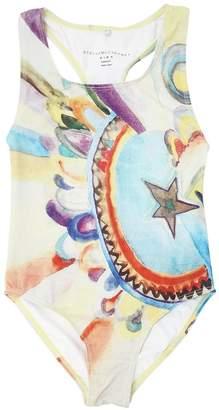 Stella McCartney Rainbow Print Lycra One Piece Swimsuit