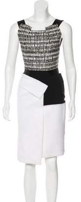 Roland Mouret Sleeveless Knee-Length Dress