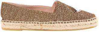 Apologie Gold Glitter Flats