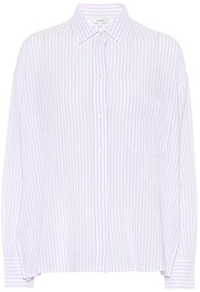 Vince Striped cotton shirt
