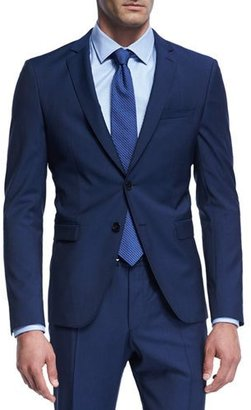 BOSS Natural Stretch Wool Jacket $645 thestylecure.com