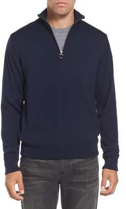Barbour Gamlin Quarter Zip Wool Pullover