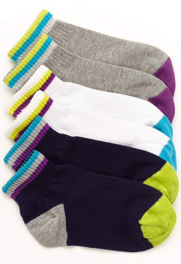 Stride Rite Carter Color Changing Quarter Sock (3-Pack)