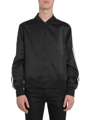 Versace Back Embroidered Bomber Jacket