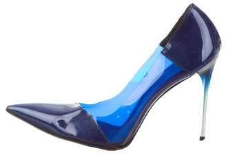 Stella McCartney PVC Pointed-Toe Pumps