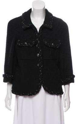 Chanel Tailored Wool Jacket