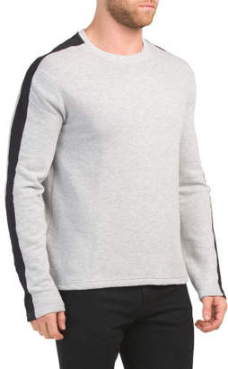 Long Sleeve French Terry Pullover Top