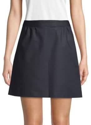 A.P.C. Gathered Mini Skirt