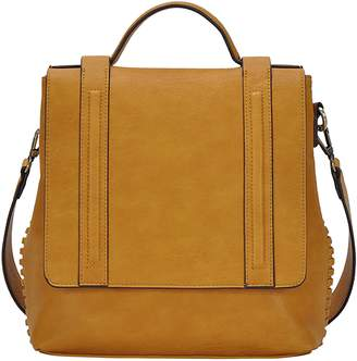 Antik Kraft Convertible Faux Leather Messenger Bag