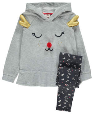 George Christmas Reindeer Top and Leggings Set