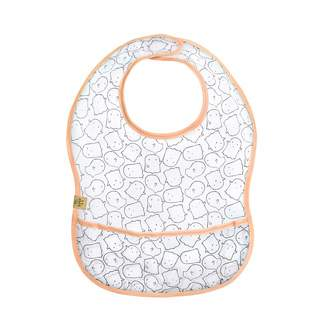 Lassig Washable Waterproof EVA Bib with Crumb Catcher