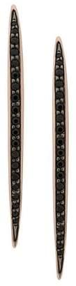 Shaun Leane Quill black spinel earrings