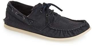 John Varvatos Collection Schooner Canvas Boat Shoe