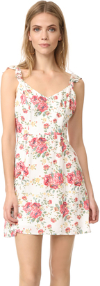 WAYF Iris Tie Back A-Line Dress $65 thestylecure.com