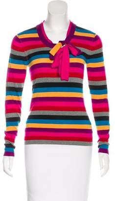 Sonia Rykiel Striped Wool Top