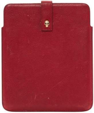 Alexander McQueen Leather Ipad Case